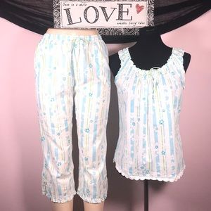 Aria 2pc Pj Capri Set Size S 💕